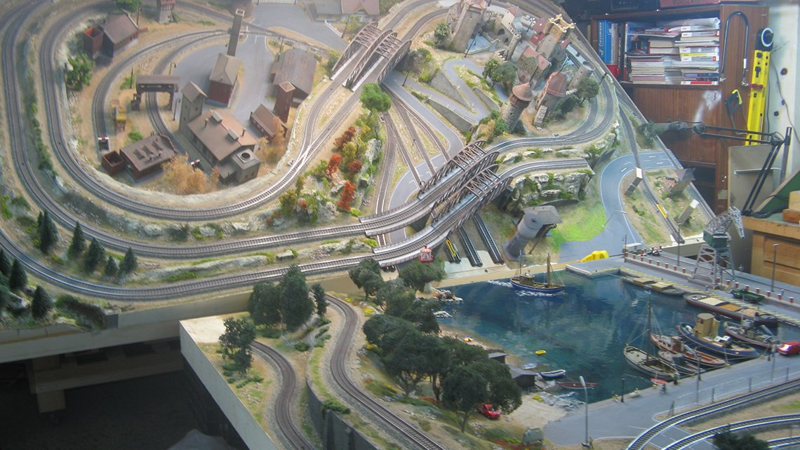 waterfront-scale-model