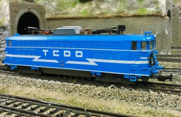 tcdd locomotive scale model custom design